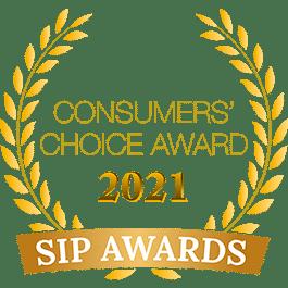 Consumers' Choice Award 2021 SIP Awards