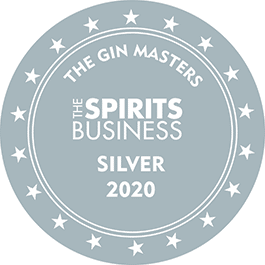 Médaille Argent 2020 The Gin Masters