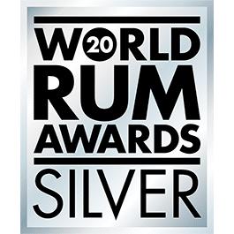 Médaille Argent 2020 World Rum Awards