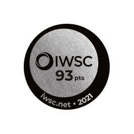 Médaille Argent 2021 IWSC