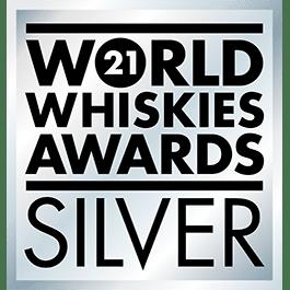 Médaille Argent 2021 World Whiskies Awards