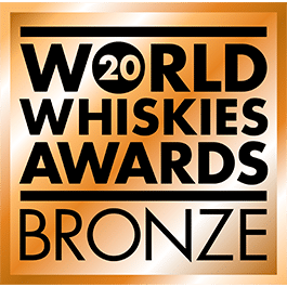 Médaille Bronze 2020 World Whiskies Awards