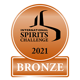 Médaille bronze 2021 International Spirits Challenge