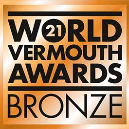 Médaille Bronze 2021 World Vermouth Awards