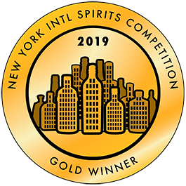 Médaille Or 2019 New York Intl Spirits Competition