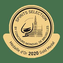 Médaille Or 2020 Concours Mondial de Bruxelles