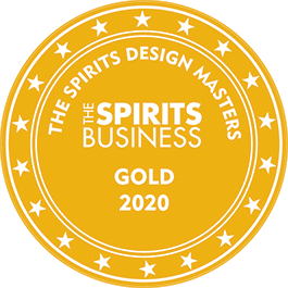 Médaille Or 2020 The Spirits design Masters