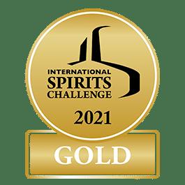 Médaille Or 2021 International Spirits Challenge