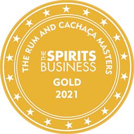 Médaille Or 2021 The Rhum And Cachaça Masters