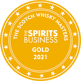 Médaille Or 2021 The Scotch Whisky Masters