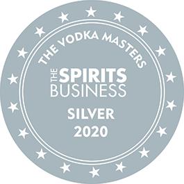 Médaille Argent 2020 The Vodka Masters