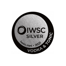 Médaille Argent 2021 IWSC Vodka & Tonic