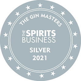 Médaille Argent 2021 The Gin Masters