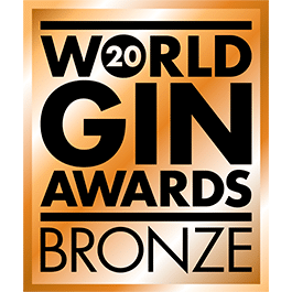 Médaille Bronze 2020 World Gin Awards