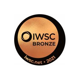 Médaille Bronze 2021 IWSC