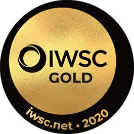 Médaille Or 2020 IWSC