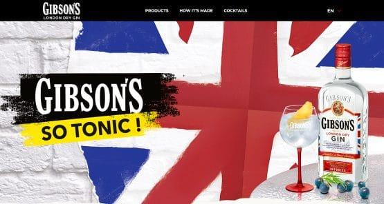 GIBSON'S website