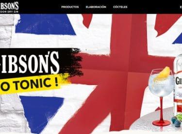Sitio web GIBSON'S